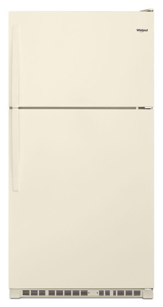 Whirlpool33-Inch Wide Top Freezer Refrigerator - 20 Cu. Ft.
