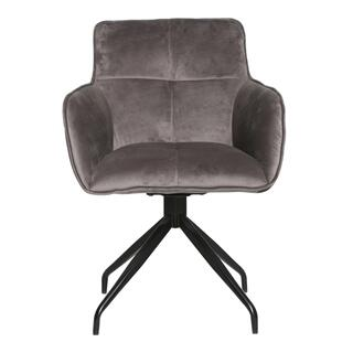 Cavazzi Swivel Chair Grey