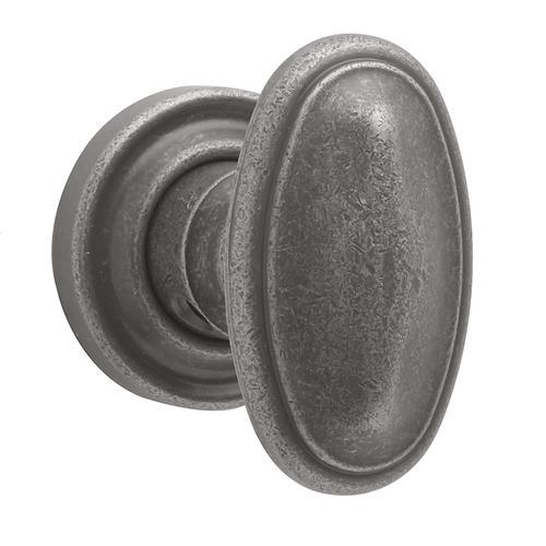Baldwin - Distressed Antique Nickel 5057 Estate Knob