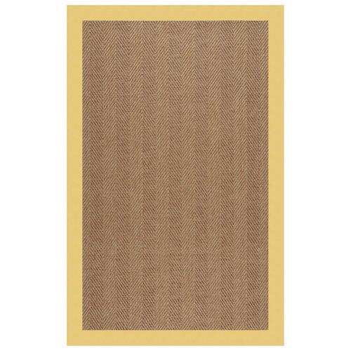 "Capel Rugs - Islamorada-Herringbone Canvas Canary - Rectangle - 24"" x 36"""