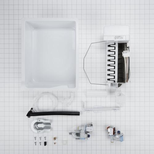 SxS Refrigerator Ice Maker Assembly