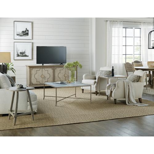 Hooker Furniture - Alfresco Lapilli Carved Top End Table