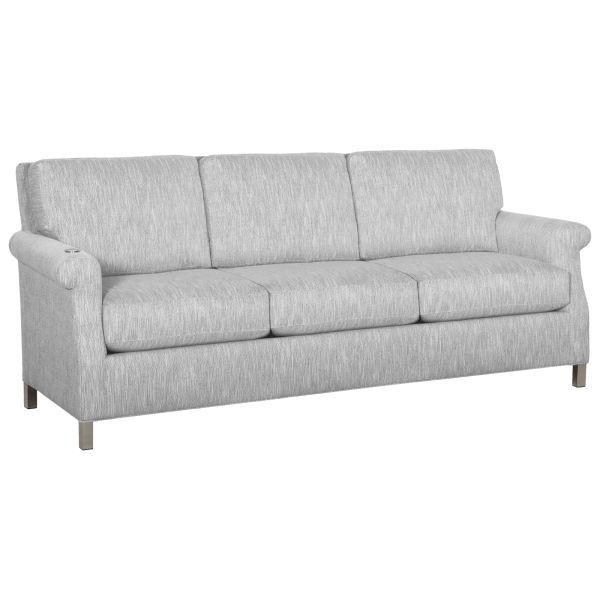 Greek Key Arm Sofa