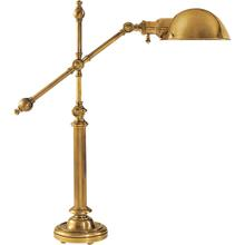 E. F. Chapman Pimlico 25 inch 60 watt Antique-Burnished Brass Task Table Lamp Portable Light in Antique Brass