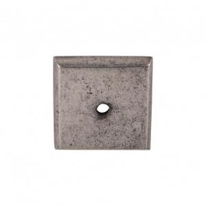 Aspen Square Backplate 1 1/4 Inch - Silicon Bronze Light Product Image