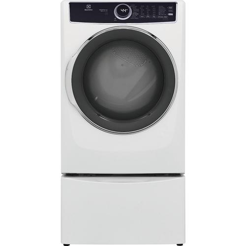 Electrolux - Front Load Perfect Steam™ Gas Dryer with Predictive Dry™ and Instant Refresh - 8.0 Cu. Ft.