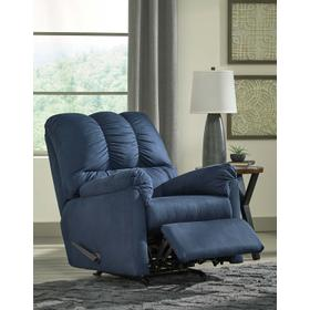 Darcy Rocker Recliner Blue
