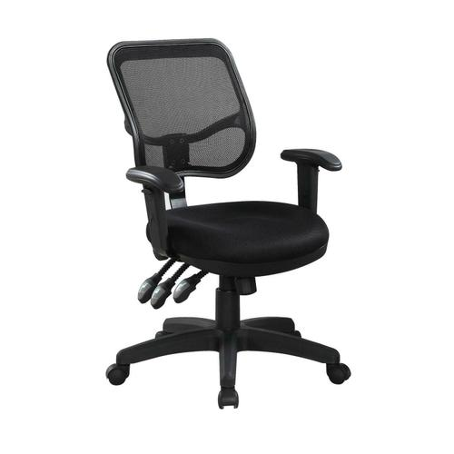 Coaster - Transitional Black Office Chair