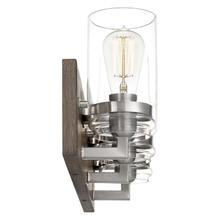 View Product - Craven Bath Light in Aged Oak