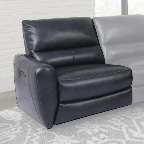 SAMSON - BANNER NAVY Power Left Arm Facing Recliner