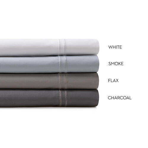 Supima® Cotton Sheets Split Queen White