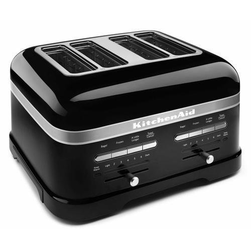 KitchenAid - Pro Line® Series 4-Slice Automatic Toaster Onyx Black