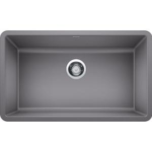 "Precis 30"" Single Bowl - Metallic Gray"