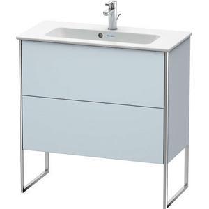 Vanity Unit Floorstanding Compact, Light Blue Satin Matte (lacquer)