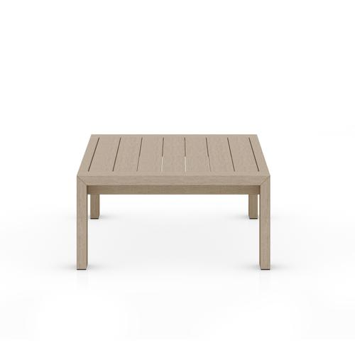 Four Hands - Washed Brown Finish Caro Outdoor Coffee Table