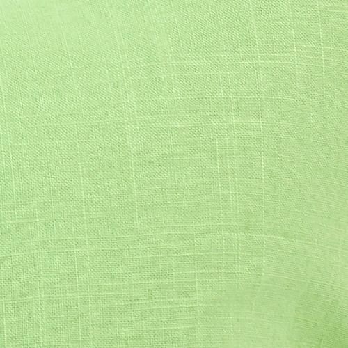 Howard Elliott - Scroll Puff Rocker Linen Slub Grass Titanium Frame