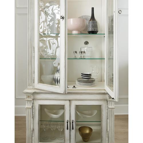 Hooker Furniture - Sanctuary Display Cabinet Blanc