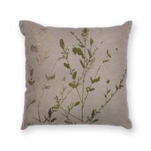 """L297 Natural Branch Pillow 18"""" X 18"""""""