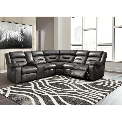 Coahoma 3-piece Reclining Sectional With Chaise