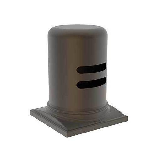 Newport Brass - Weathered Brass Air Gap Cap & Escutcheon Only