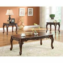 ACME Fairfax 3Pc Pack Coffee/End Table Set - 80234 - Light Brown