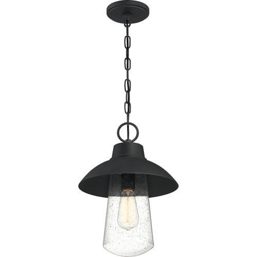 Quoizel - East Bay Outdoor Lantern in Mottled Black