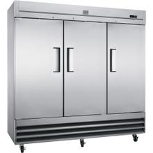 Digital Cabinets Reach-In Refrigerator, 72 cu.ft - Stainless Steel