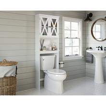 View Product - Over-Toilet Bathroom Etagere with Doors