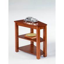 Chairside Table - Poplar/Birch Veneer Finish