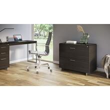 View Product - Sequel 20 6116 Lateral File Cabinet in Charcoal Satin Nickel