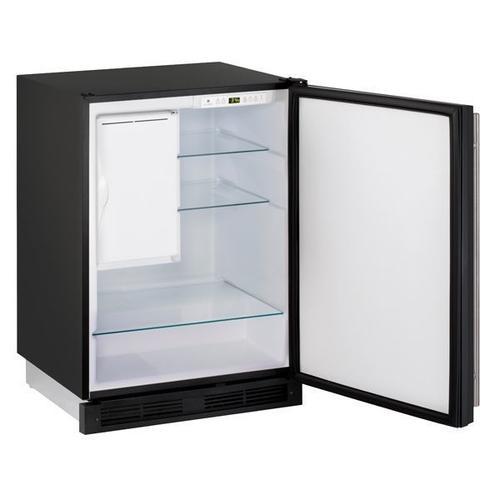 "1224rf 24"" Refrigerator/freezer With Black Solid Finish (115 V/60 Hz Volts /60 Hz Hz)"