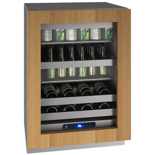 "U-Line - Hbv524 24"" Beverage Center With Integrated Frame Finish and Field Reversible Door Swing (115 V/60 Hz Volts /60 Hz Hz)"
