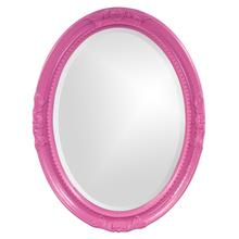 View Product - Queen Ann Mirror - Glossy Hot Pink