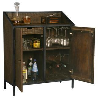 See Details - Howard Miller Rare Vintage Wine & Bar Console 695266