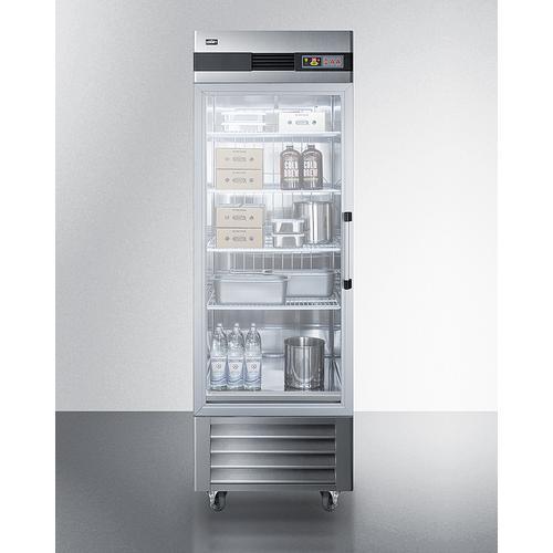 Summit - 23 CU.FT. Reach-in Refrigerator