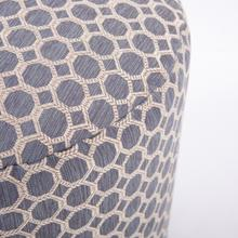 See Details - Tall Pouf Pyth Steel
