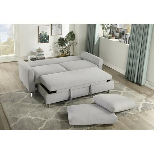 Homelegance - Convertible Studio Sofa with Pull-out Bed