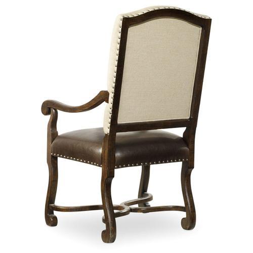 Dining Room Treviso Camelback Arm Chair - 2 per carton/price ea