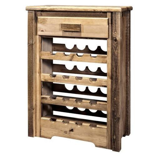 Montana Woodworks - Homestead Collection Wine Cabinet, Stain and Lacquer Finish