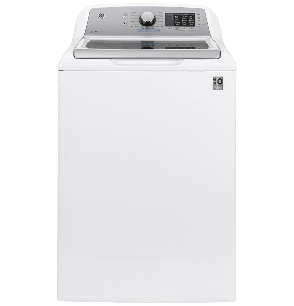 GEGe(r) 4.6 Cu. Ft. Capacity Washer With Sanitize W/oxi And Flexdispense(tm)