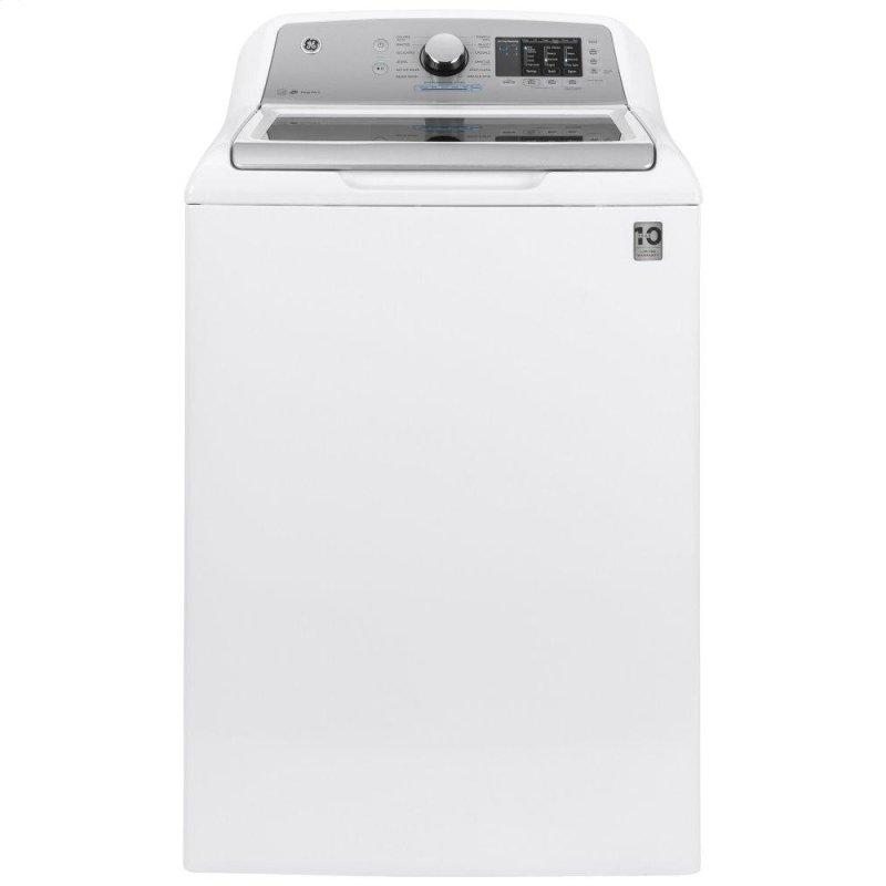 GE(R) 4.6 cu. ft. Capacity Washer with Sanitize w/Oxi and FlexDispense(TM)