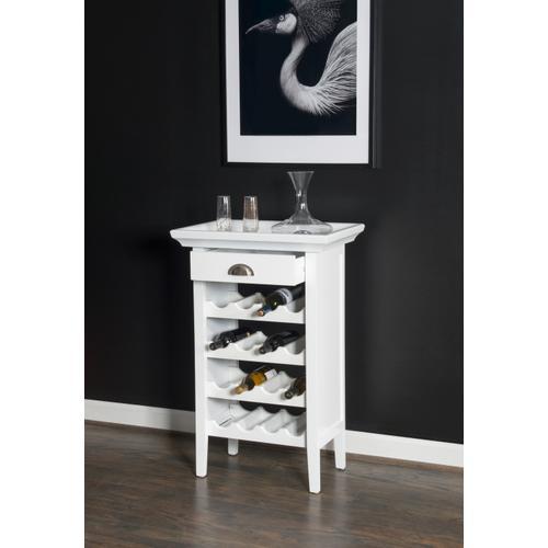 Powell Company - Wine Cabinet - White