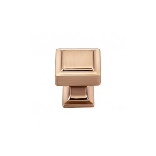 Ascendra Knob 1 1/8 Inch - Honey Bronze
