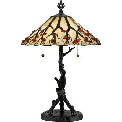 Agate Portable Table Lamp in Valiant Bronze