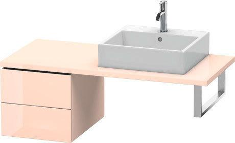 Low Cabinet For Console, Apricot Pearl High Gloss (lacquer)
