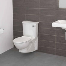 View Product - Glenwall VorMax Wall-Hung Toilet with Right Hand Trip Lever  American Standard - White