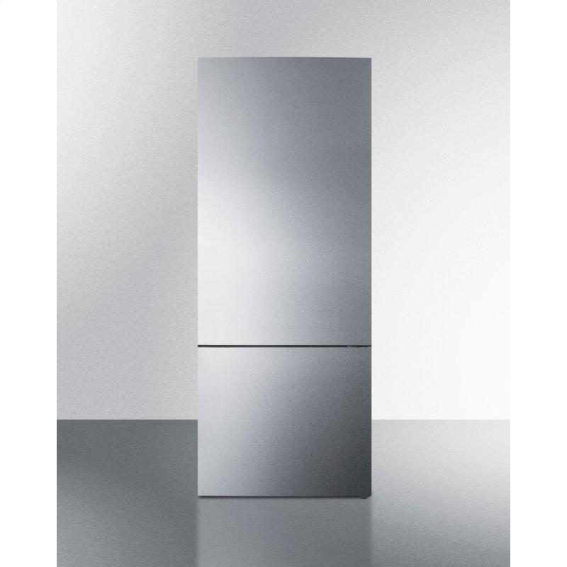 "28"" Wide Built-in Bottom Freezer Refrigerator With Icemaker"