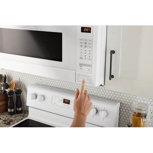 Maytag - Over-the-Range Microwave with stainless steel cavity - 1.7 cu. ft.