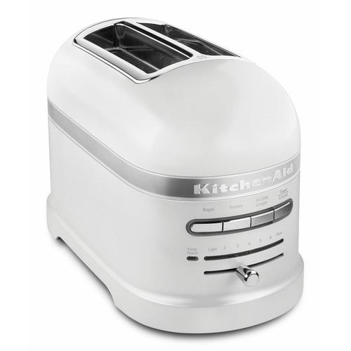 KitchenAid - Pro Line® Series 2-Slice Automatic Toaster - Frosted Pearl White