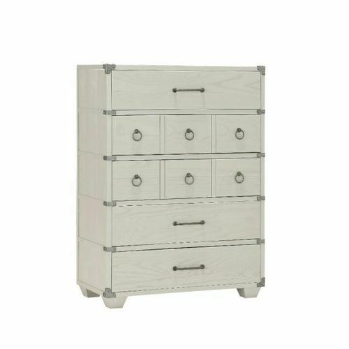 ACME Orchest Chest - 36141 - Transitional, Industrial - Wood (Poplar/Pine), MDF - Gray